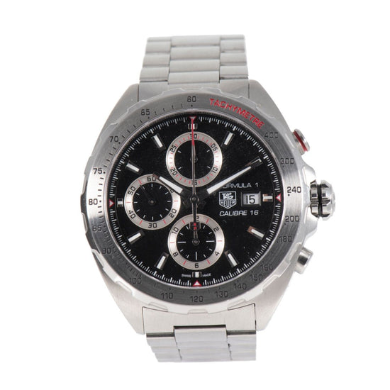 TAG Heuer Formula 1 CAZ2010 Black & Steel 44mm Mens Watch