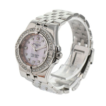 Load image into Gallery viewer, Breitling Starliner A71340 30mm Stainless Steel Ladies Watch