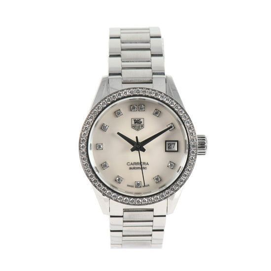 Tag Heuer Carrera WAR2415-2 - 29mm Stainless Steel Ladies Watch