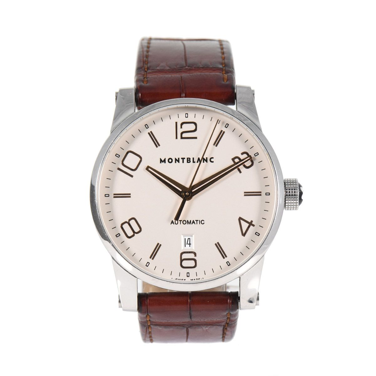 Montblanc Timewalker 7070 Steel 42mm Automatic Mens Watch