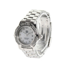 Load image into Gallery viewer, Tag Heuer Aquaracer Quartz WAF1416 Diamond Set Dial 28mm Ladies Watch