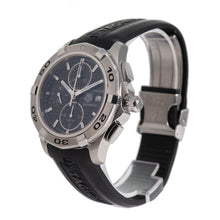 Load image into Gallery viewer, Tag Heuer Aquaracer Automatic Chronograph CAP2110 Black Dial 43mm Mens Watch