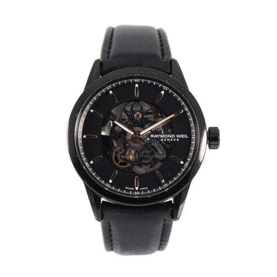 Raymond Weil Freelancer Automatic 2715 Black Dial 42.5mm Mens Watch
