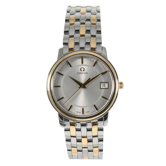 Omega De Ville Quartz 4310.31.00 Grey Dial 34.5mm Mens Watch