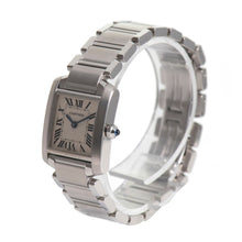 Load image into Gallery viewer, Cartier Tank Francaise 2384 -  20mm stainless Steel Ladies Watch 6#NY%6