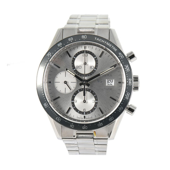 Tag Heuer Carrera CV2011 Automatic Steel 41.5mm Mens Watch