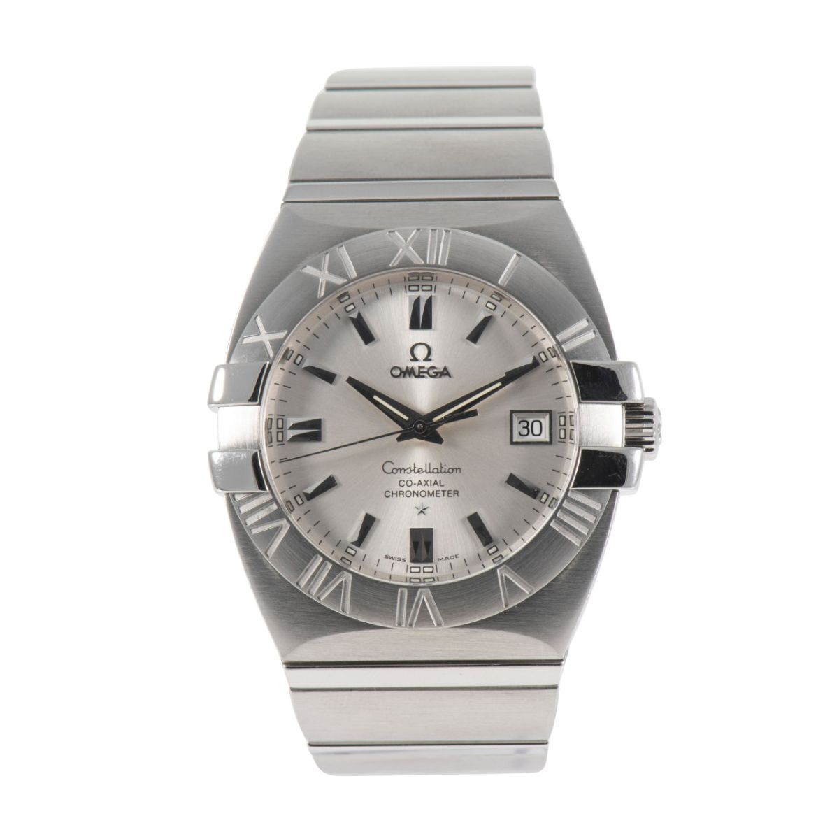 Omega Constellation 1502.30.00 Stainless Steel & Grey 38mm Mens Watch
