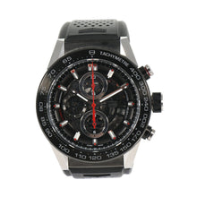 Load image into Gallery viewer, Tag Heuer Carrera Automatic Chronograph CAR2A1Z Black Dial 45mm Mens Watch