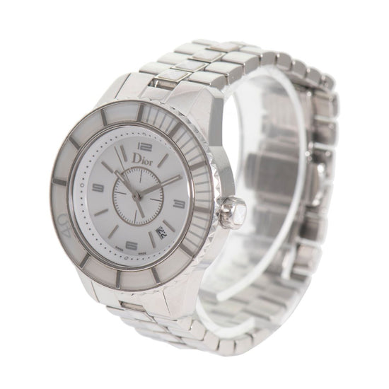 Dior Christal CD113111 Quartz White Dial 34mm Ladies Watch