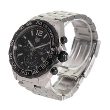 Load image into Gallery viewer, TAG Heuer Formula 1 CAZ1010 Black & Steel 43mm Mens Watch