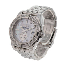 Load image into Gallery viewer, Breitling Galactic Automatic A37330 Diamond Dial 36mm Mens Watch