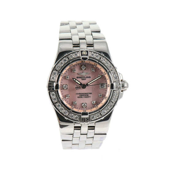 Breitling Starliner A71340 30mm Stainless Steel Ladies Watch