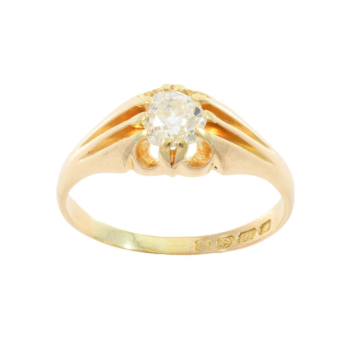 1.07ct Diamond Solitaire Ring (X)
