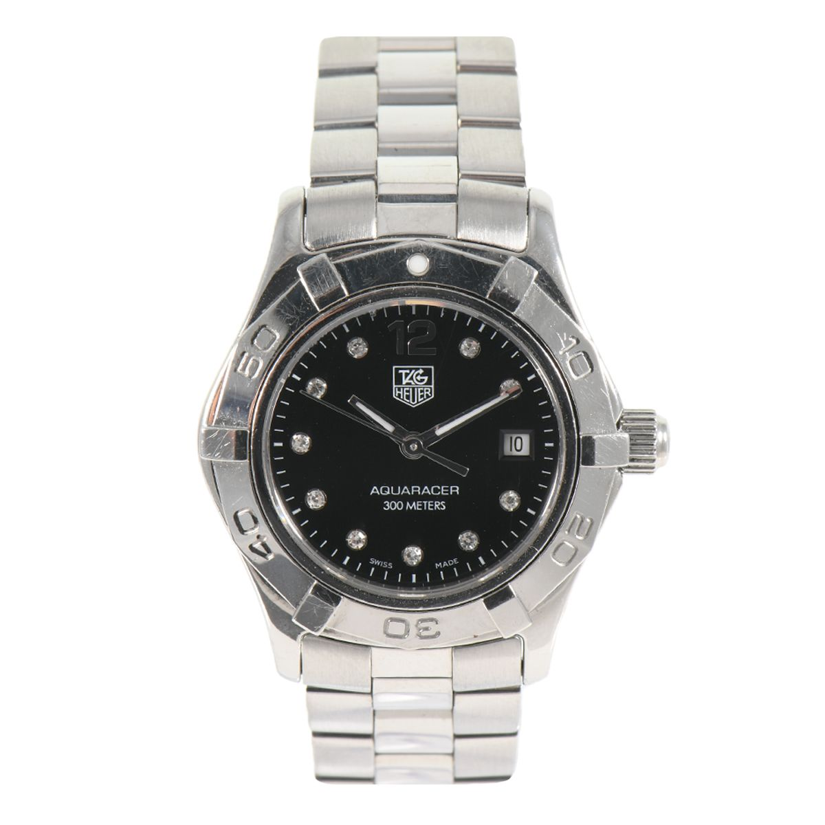 Tag Heuer Aquaracer WAF141C Quartz Diamond 28mm Ladies Watch