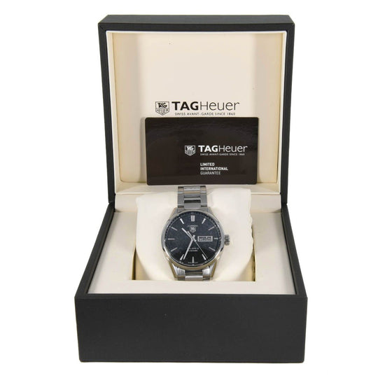 Tag Heuer Carrera WAR201A-1 - 41mm Stainless Steel Mens Watch