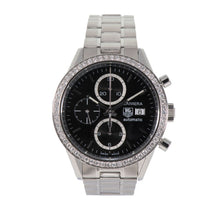 Load image into Gallery viewer, Tag Heuer Carrera CV201J Steel & Black 41.5mm Mens Watch