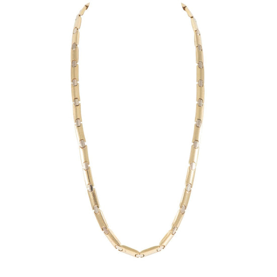 18ct Yellow Gold Ladies Fancy Necklace 18 inches
