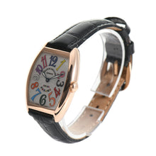 Load image into Gallery viewer, Franck Muller Cintrée Curvex 7502 QZ Gold & White 29mm Ladies Watch