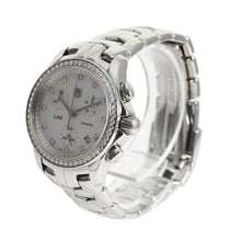 Load image into Gallery viewer, TAG Heuer Link CJF1214 Mother of Pearl & Diamond 34mm Ladies Watch
