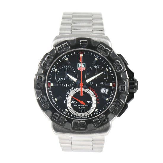 Tag Heuer F1 Formula 1 CAH1110 - 41mm Stainless Steel Mens Watch