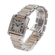 Load image into Gallery viewer, Cartier Tank Francaise 2302 Cream Bi-Colour 28mm Mens Watch