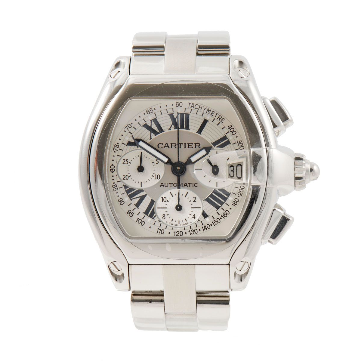 Cartier Roadster 2618 - 42mm Stainless Steel Mens Watch