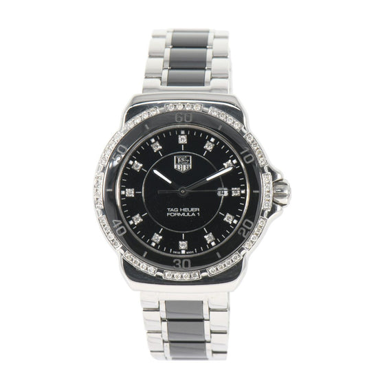 TAG Heuer Formula 1 WAH1312 Black & Steel 32mm Ladies Watch