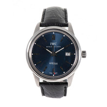 Load image into Gallery viewer, IWC Schaffhausen Automatic Blue Dial 42.5mm Mens Watch