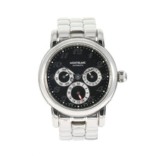 Load image into Gallery viewer, Montblanc Meisterstuck 7018 Dual Time Automatic 37mm Mens Watch