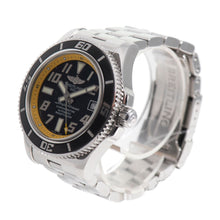 Load image into Gallery viewer, Breitling Superocean Automatic A17364 Steel Black Dial 42mm Mens Watch
