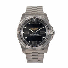 Load image into Gallery viewer, Breitling Aerospace Quartz E79362 Black Dial 42mm Mens Watch