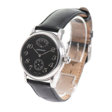 Load image into Gallery viewer, Montblanc Meisterstuck 7017 Steel & Black 36mm Mens Watch