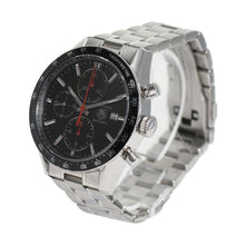 Load image into Gallery viewer, Tag Heuer Carrera CV2014-2 Automatic Steel Black Dial 41.5mm Mens Watch