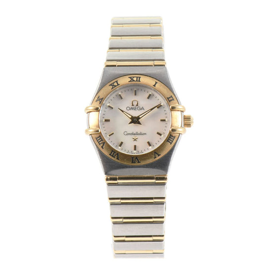 Omega Constellation Quartz 1262.70.00 Mother of Pearl Dial 22mm Ladies Watch