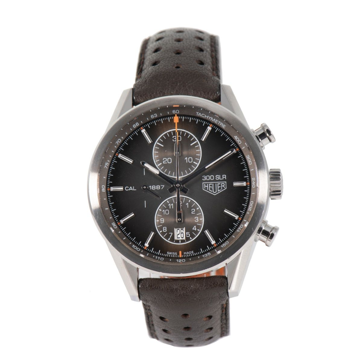 Tag Heuer Carrera CAR2112-0 - 41mm Stainless Steel Mens Watch