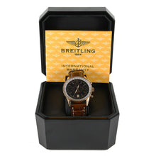 Load image into Gallery viewer, Breitling Montbrillant H4833012 Manual 18ct Gold 43mm Mens Watch