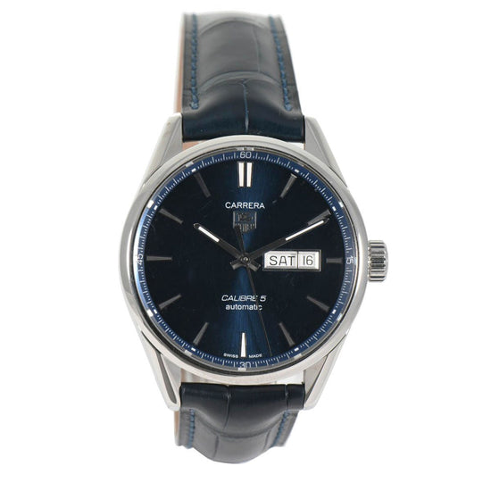 Tag Heuer Carrera Automatic WAR201E Blue Dial 41mm Mens Watch