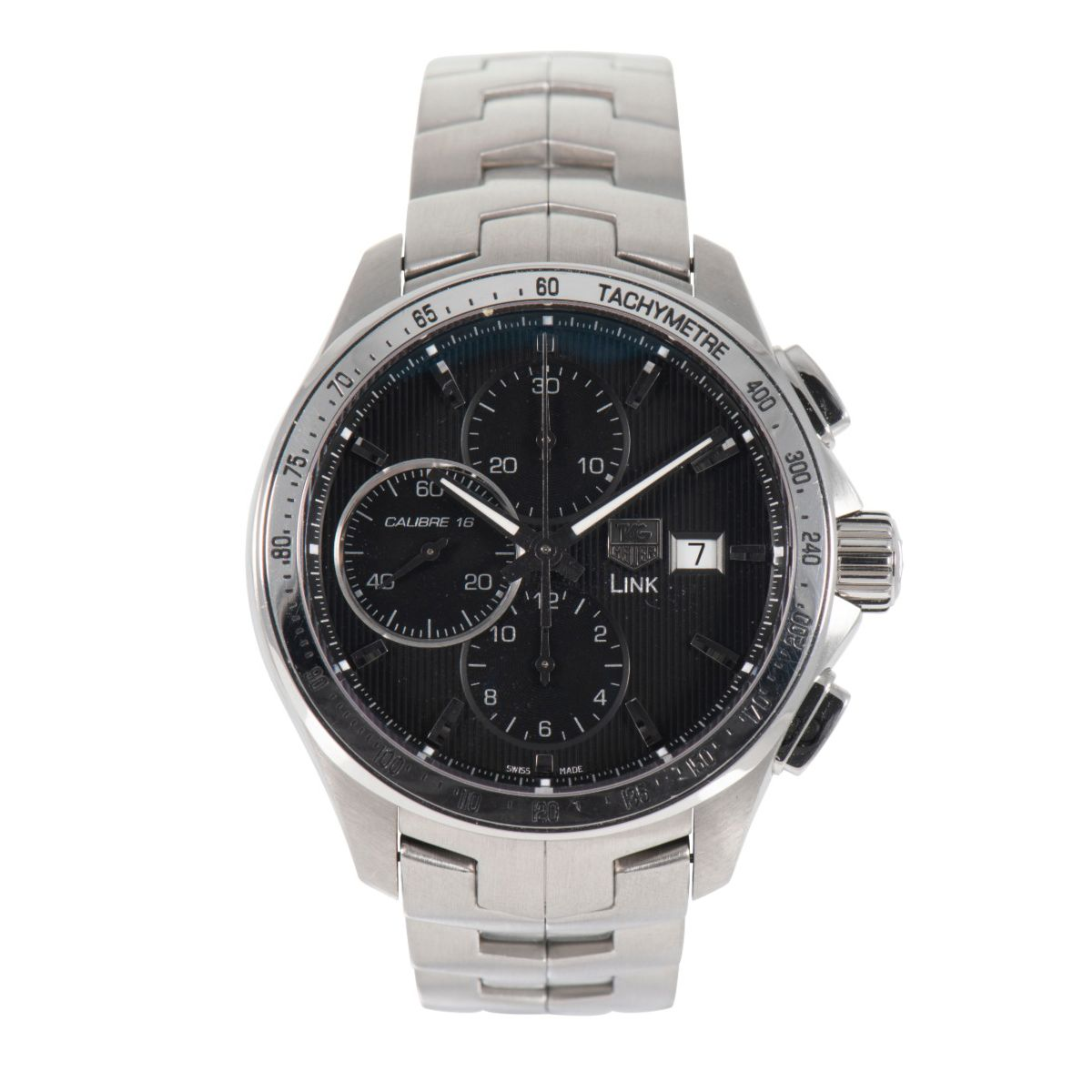 Tag Heuer Link CAT2010 - 44mm Stainless Steel Mens Watch