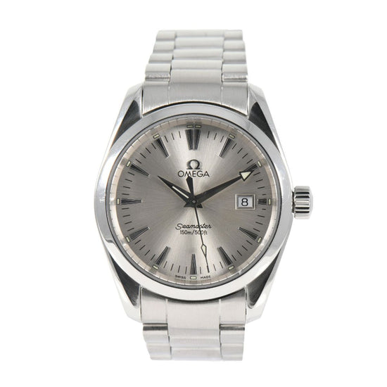 Omega Seamaster Aqua Terra 2518.30.00 36mm Stainless Steel Mens Watch