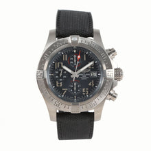 Load image into Gallery viewer, Breitling Avenger Bandit E13383 Titanium & Blue 45mm Mens Watch