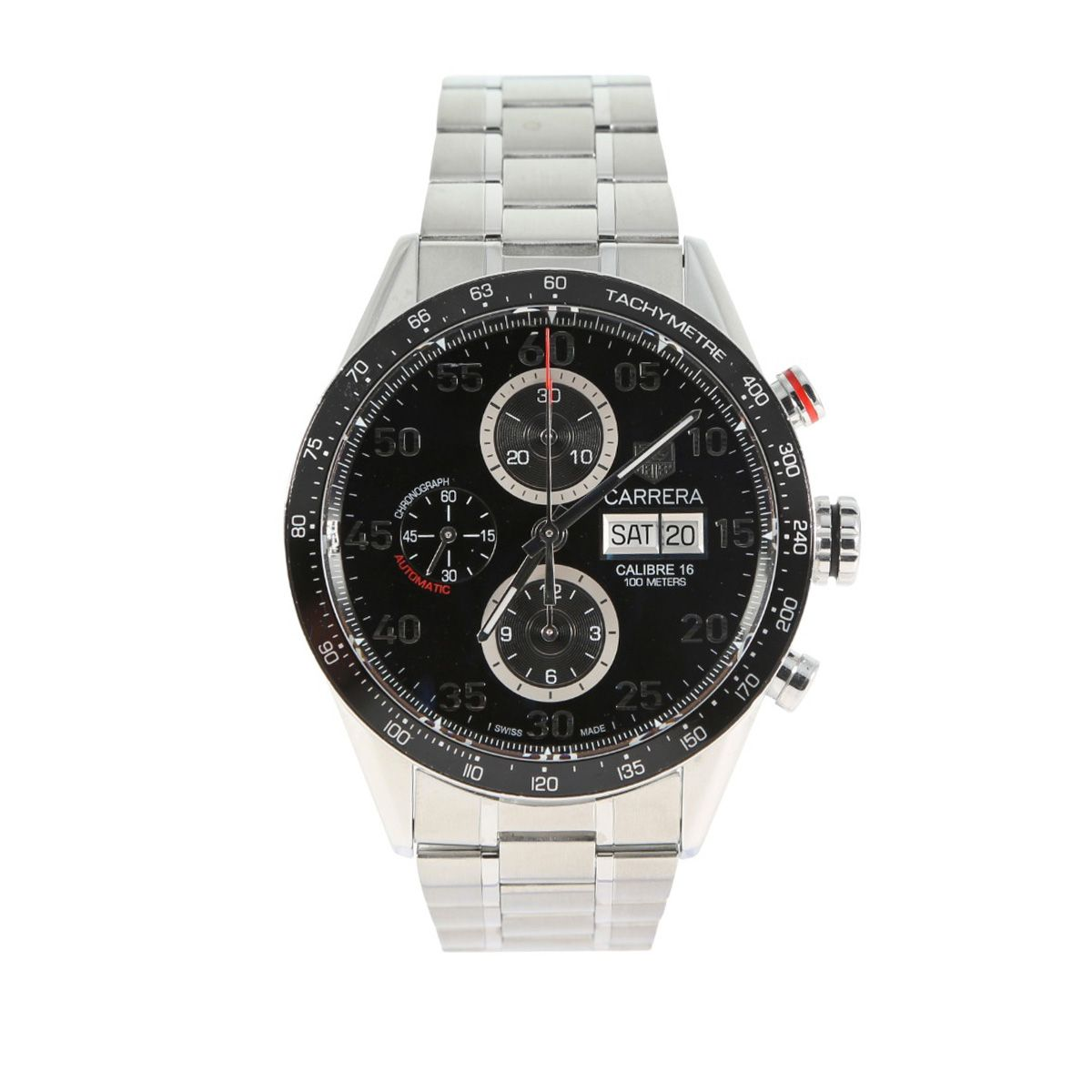Tag Heuer Carrera CV2A10 - 44mm Stainless Steel Mens Watch