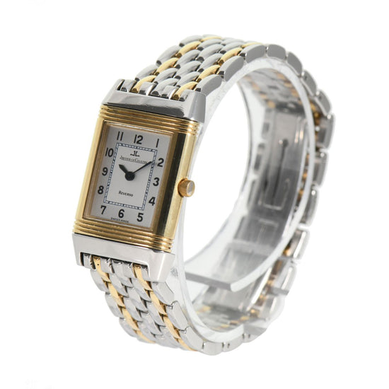 Jaeger-leCoultre Reverso 260.5.08 Bi-Colour & Grey 19mm Ladies Watch