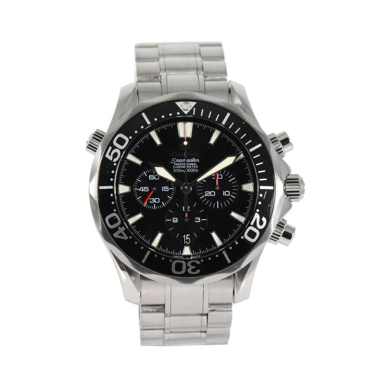 Omega Seamaster Chrono Diver 212.30.42.50.01.001 Black 41mm Mens watch