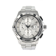 Load image into Gallery viewer, Tag Heuer Aquaracer Automatic Chronograph CAP2111 Grey Dial 42.5mm Mens Watch