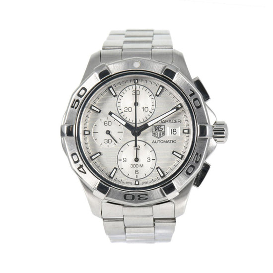 Tag Heuer Aquaracer Automatic Chronograph CAP2111 Grey Dial 42.5mm Mens Watch
