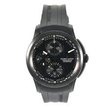Load image into Gallery viewer, Maurice Lacroix Pontos PT6178/88 Chronograph Steel & Black 43mm Mens Watch