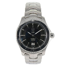 Load image into Gallery viewer, TAG Heuer Link WJ201A Black & Steel 2009 42mm Mens Watch