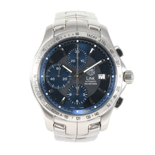 Load image into Gallery viewer, Tag Heuer Link CJF2114 Steel Blue Triple Chronograph 42mm Mens Watch