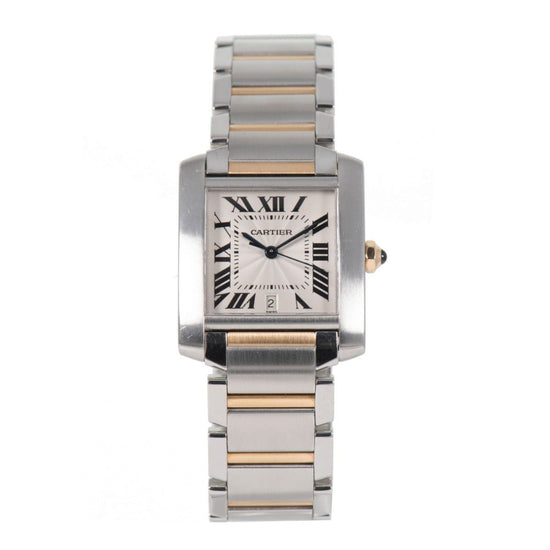 Cartier Tank Francaise 2302 - 28mm bi-Colour Ladies Watch