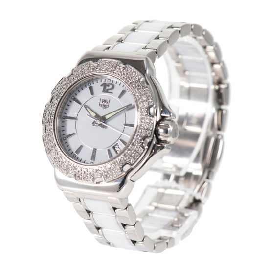 Tag Heuer F1 WAH1215 - 38mm Stainless Steel Ladies Watch
